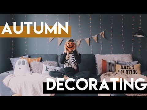 fall apartment makeover | DECORATING FOR HALLOWEEN