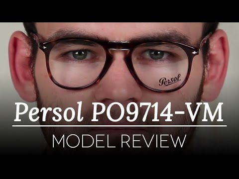 b6ff763172 Persol Folding Glasses Review - Persol PO9714-VM - YouTube