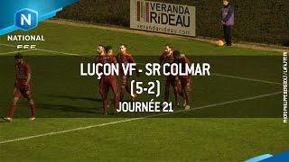 J21 : Luçon VF - SR Colmar (5-2), le résumé