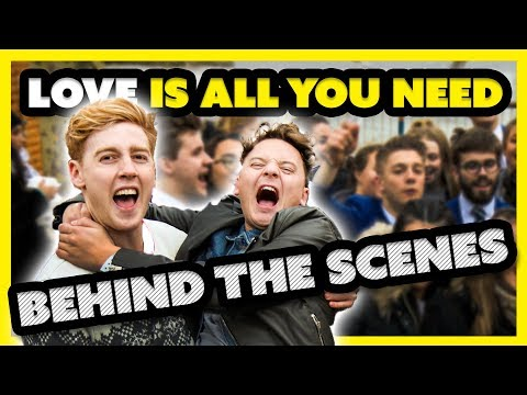 ALL YOU NEED IS LOVE FLASH MOB  Behind the Scenes