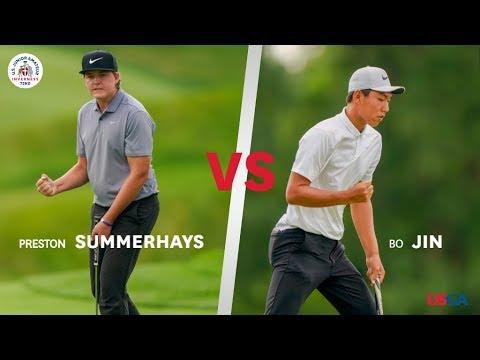 2019 U.S. Junior Amateur Championship Match: Highlights