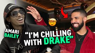 Would You Rather With AMARI BAILEY! Chill With Drake Or Travis Scott!? Give Up Fav Music Or Food?