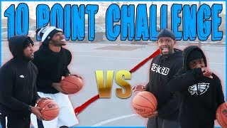 The Most PAINFUL Shooting Challenge! (He Literally Cried!)