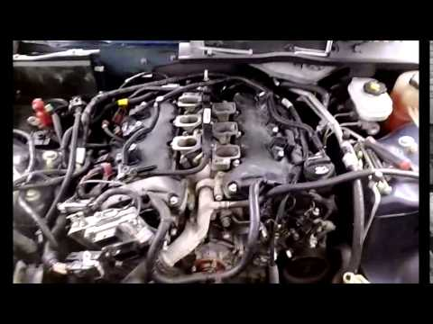 Holden 3 8 V6 Belt Diagram Cts 3 6l V6 Timing Chains Replacement Part 1 Youtube