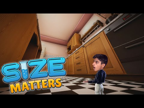 SIZE MATTERS - A Game where I keep on Shrinking !!! |
