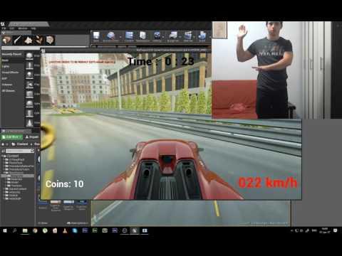 Kinect Control Unreal engine