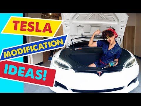 TESLA MODIFICATIONS: 7 Ways We Enhanced Our Tesla Model S (Part 1)