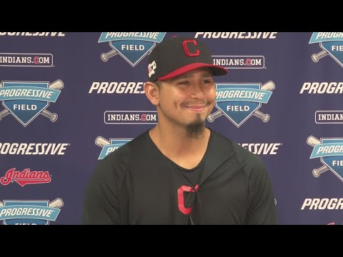 None - Indians' Carrasco Staying Positive