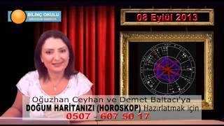 ASLAN Burç Yorumu 08 Eylül 2013   Astrolog DEMET BALTACI    , astroloji, astrology
