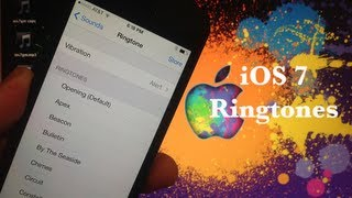 iOS 7 NEW Ringtones and Alert Sounds Walkthrough