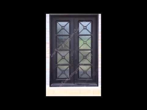 Exterior Iron Doors, Iron Banisters, Iron Balconies, Iron Gates, Iron Fences, Factory Direct