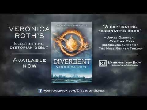 DIVERGENT by Veronica Roth - Book Trailer - YouTube
