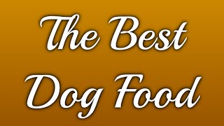 Dogs Aliments