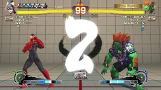 Ultra Street Fighter IV battle: Decapre vs Blanka