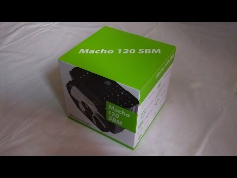 Thermalright Macho 120 SBM : unboxing
