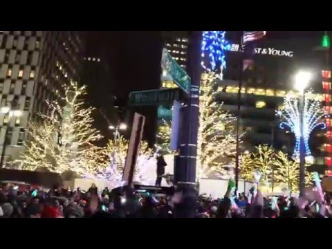 2016 New Year's Eve in Detroit