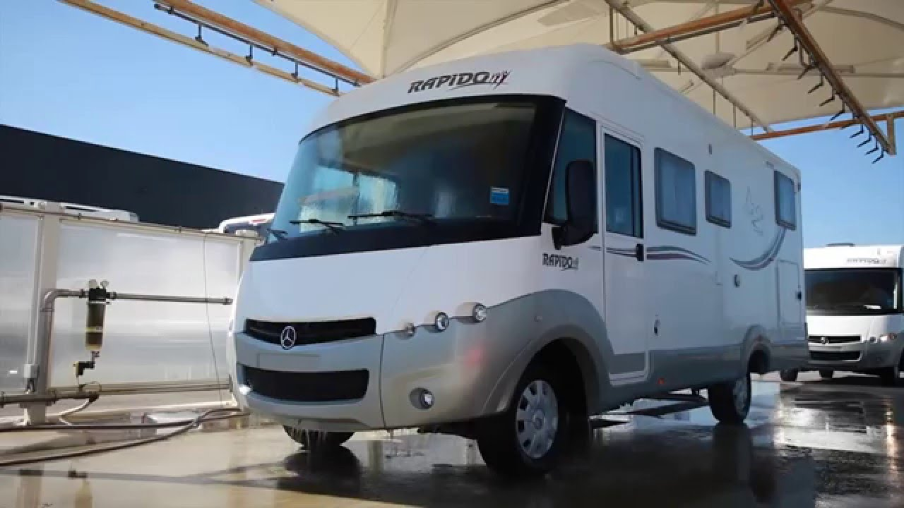 test d 39 tanch it des camping cars rapido youtube