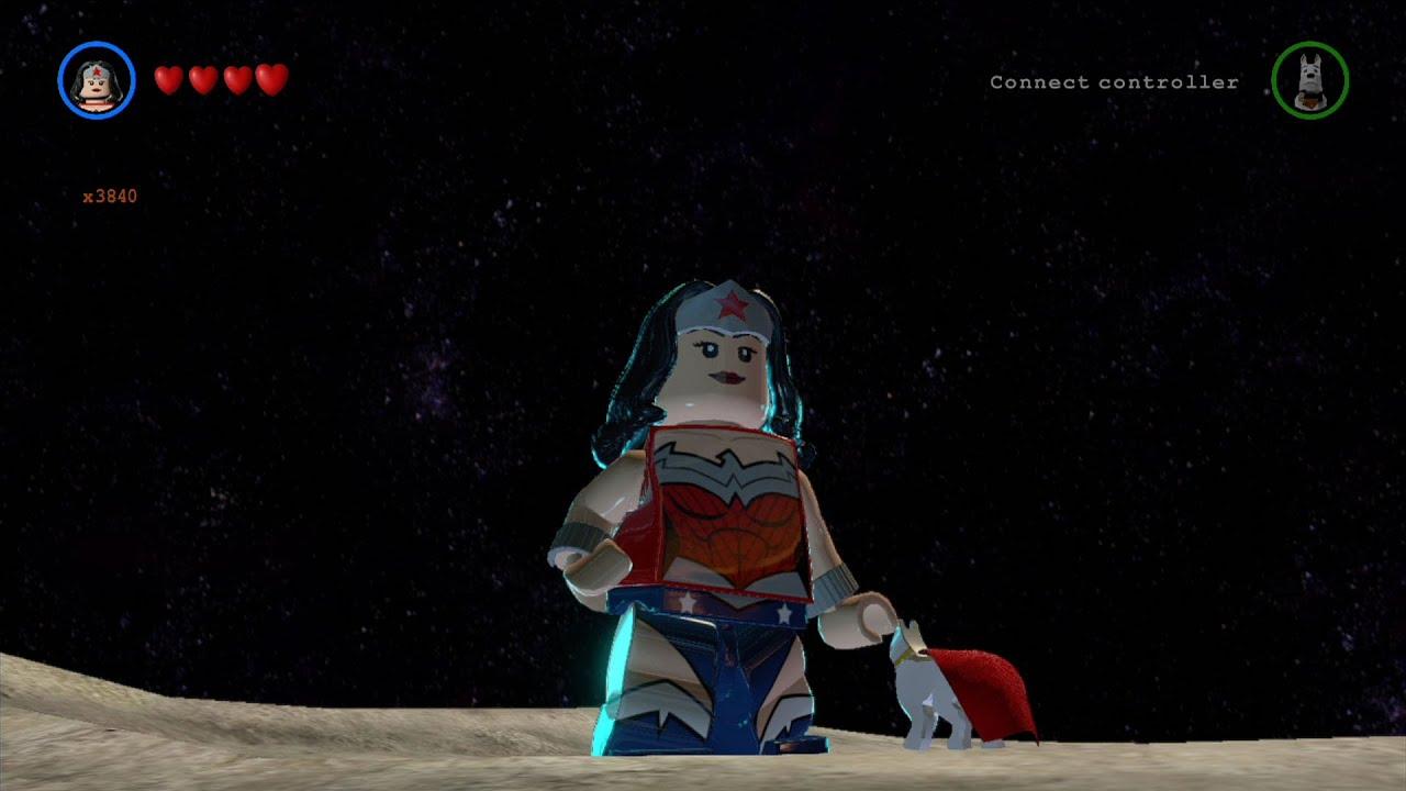 LEGO Batman 3: Beyond Gotham - Wonder Woman Free Roam ...