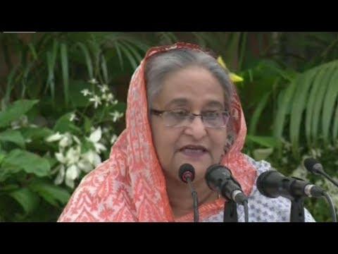 ৫৬ জেলায় ৩২১ টি প্রকল্পের উদ্বোধন করলেন প্রধানমন্ত্রী | Sheikh Hasina