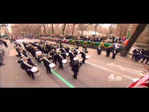 U S  Merchant Marine Academy Regimental Band Kings Point, NY 2014 parade