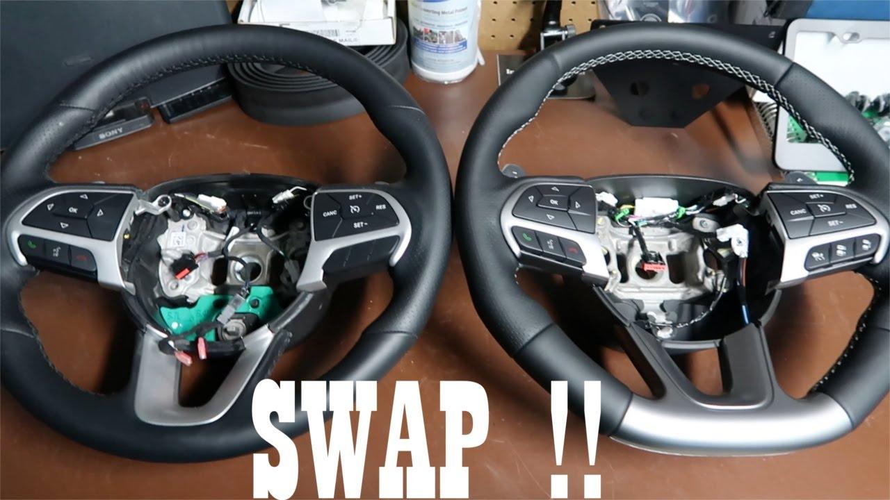 Dodge Charger Scat Pack Srt Steering Wheel Upgrade Swap