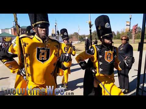 ASU Stingettes and Band Marching In - 2017 Turkey Day Classic Game