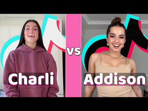 Charli D'amelio Vs Addison Rae TikTok Dances Compilation (October 2020)