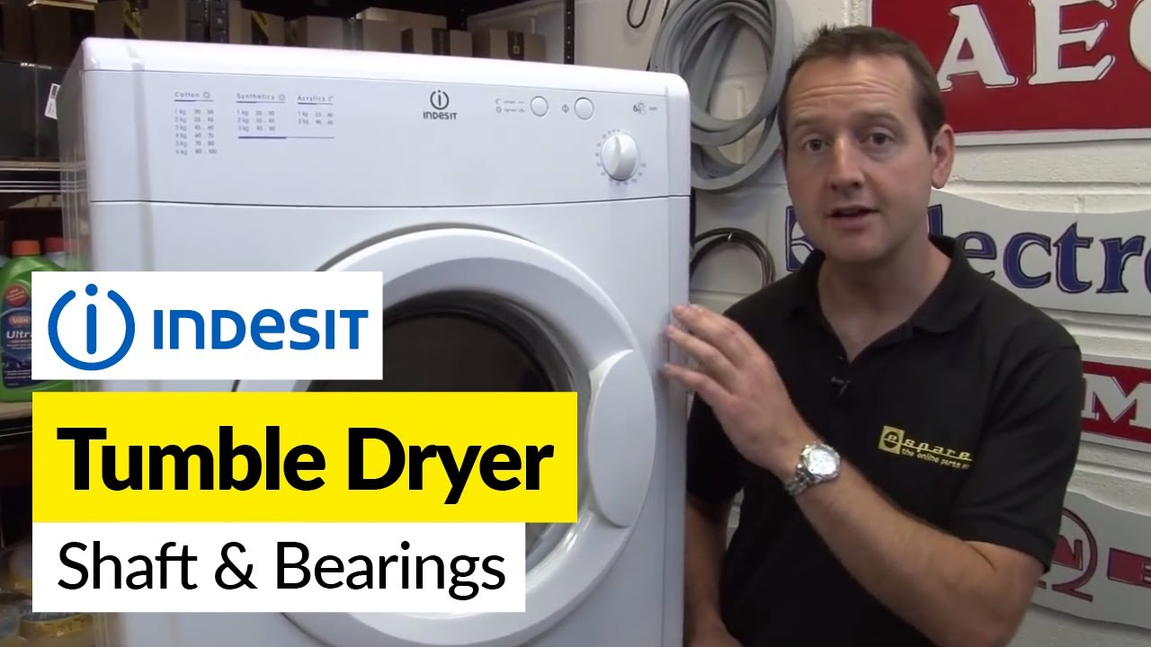 How to replace the shaft and bearings on a tumble dryer YouTube – White Knight Tumble Dryer Wiring Diagram