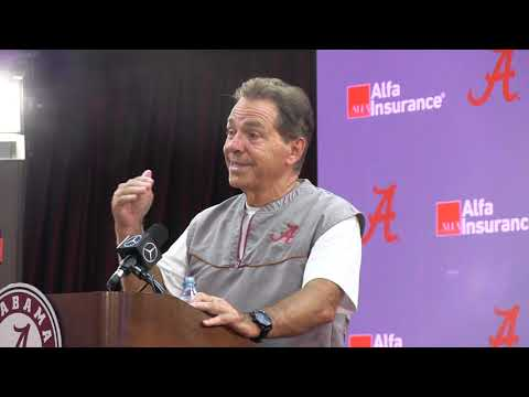 Everything Saban said in final press conference of preseason