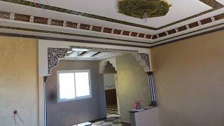 فن الصباغة استعراض المنزل بعد الانتهاء
