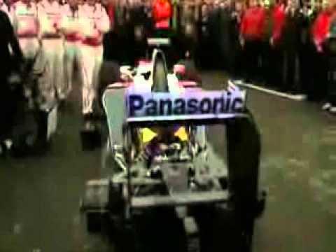 Toyota F1 Engine singing