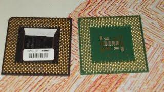 Золото с процессоров.