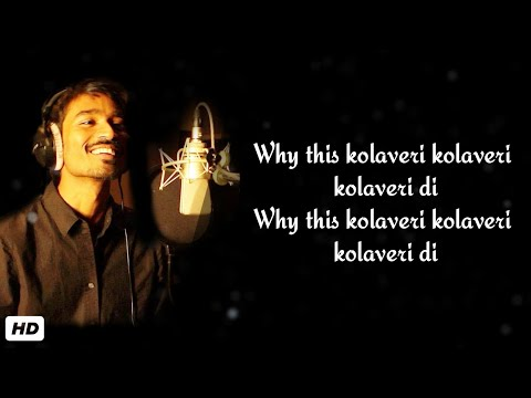 why this kolaveri di song lyrics