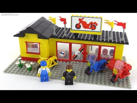 LEGO Classic Town Motorcycle Shop from 1984! set 6373