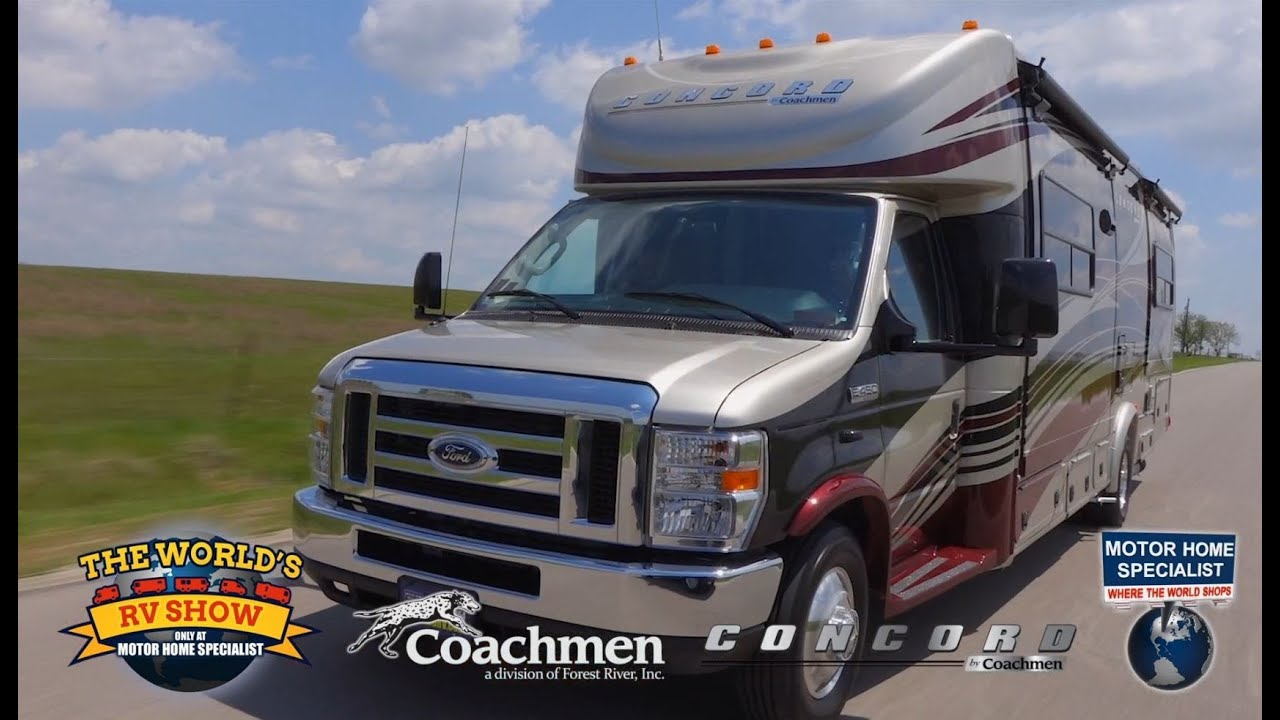 2015 Coachmen Concord Review at Motor Home Specialist MHSRV com