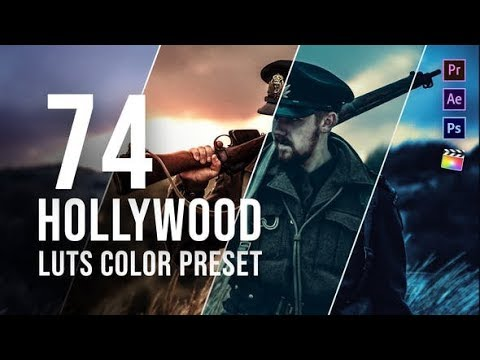 premiere-pro-template:-hollywood-lut-color-grading-pack-+-free-font