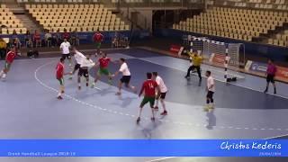 CHRISTOS KEDERIS 2018/19 - Left Wing Greek Handball Player