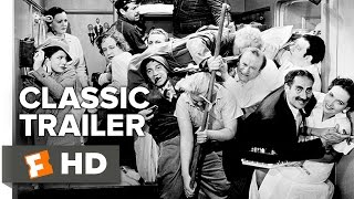 A Night at the Opera Official Trailer #1 - Groucho Marx Movie (1935) HD
