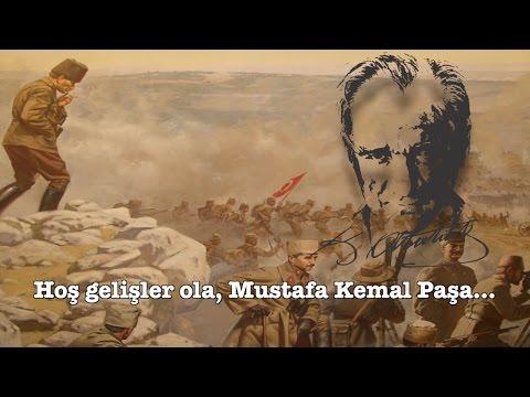 """Turkish patriotic song: """"Hoş Gelişler Ola Mustafa Kemal Paşa!"""" (TSK Armoni Mızıkası)"""