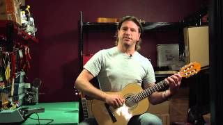 Tuning a Nylon-string Acoustic Guitar