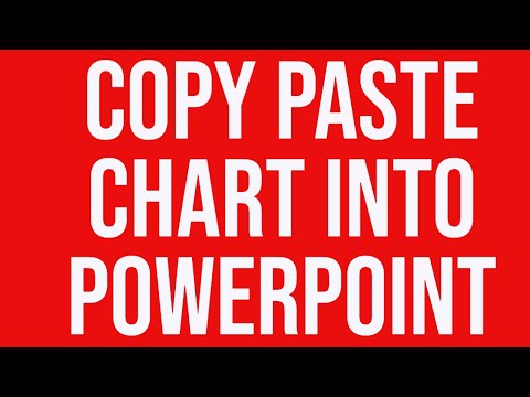 Copy Paste Excel Chart into PowerPoint Using Paste Special