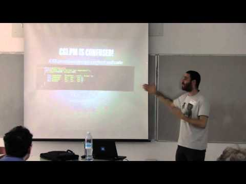 Perl Workshop in Israel, 2012 - Sawyer X: CGI.pm MUST DIE (Eng)