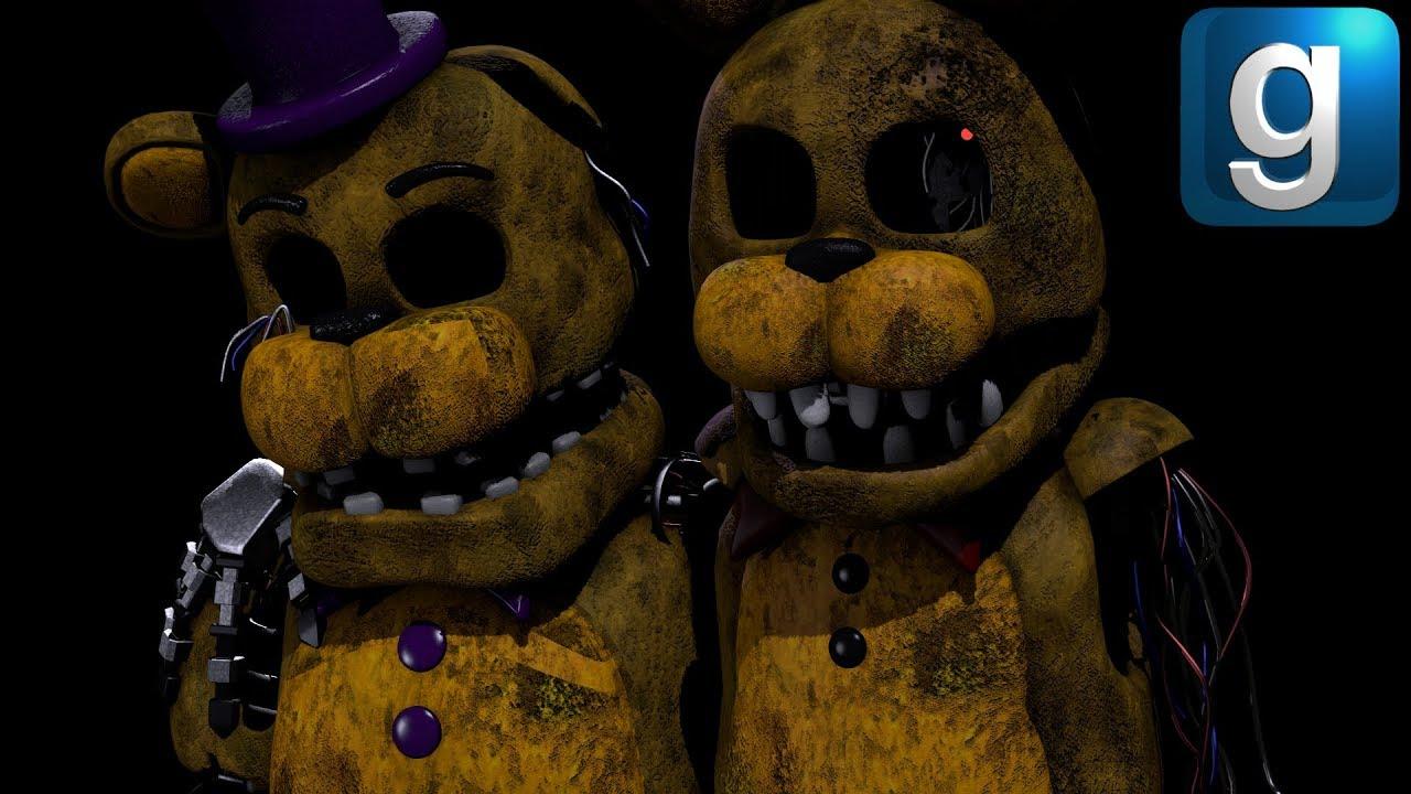 Gmod FNAF | Five Lost Nights At Freddy's [Part 2]