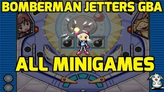 Bomberman Jetters Game Collection (GBA) - All Minigames
