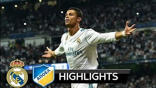 Download Video Apoel 0 - 6 Real Madrid - All Goals and Highlights - Champions League 21/11/ 2017 - HD MP3 3GP MP4
