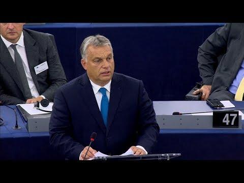 Orbán Viktor: Magyarország nem fog engedni a zsarolásnak - ECHO TV