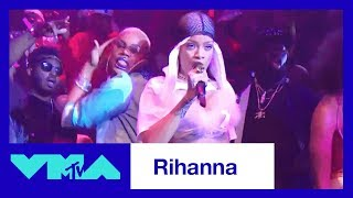 Rihanna's Greatest Moments In VMA History | 2017 Video Music Awards | MTV