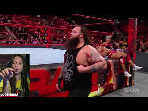 WWE Raw 11/13/17 Bray Wyatt  & Jason Jordan aftermatch
