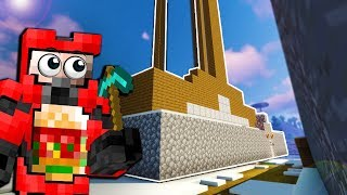 House Build Prank Turned Out to be the Most Awesome Base! - Minecraft Multiplayer Gameplay