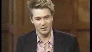 chad michael murray on live with regis kelly